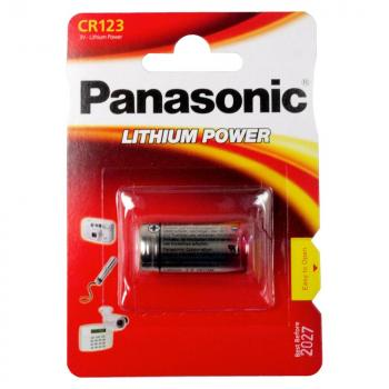 Panasonic Photo-Batterie CR123A