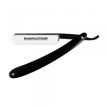 RAZOLUTION Rasiermesser Black Celluloid